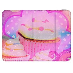 Cupcakes Covered In Sparkly Sugar Samsung Galaxy Tab 7  P1000 Flip Case by StuffOrSomething