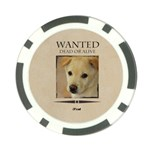 wanted - Poker Chip Card Guard