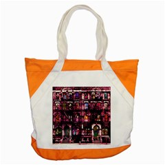 Physical Graffitied Accent Tote Bag by SaraThePixelPixie
