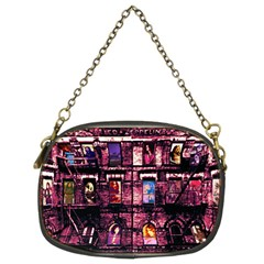 Physical Graffitied Chain Purse (two Sided)