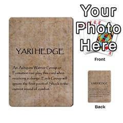 Seven Spears Takeda Uesugi Basic By T Van Der Burgt   Multi Purpose Cards (rectangle)   V0ecipjcgmoe   Www Artscow Com Back 20