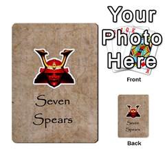 Seven Spears Takeda Uesugi Basic By T Van Der Burgt   Multi Purpose Cards (rectangle)   V0ecipjcgmoe   Www Artscow Com Front 43