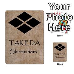 Seven Spears Takeda Uesugi Basic By T Van Der Burgt   Multi Purpose Cards (rectangle)   V0ecipjcgmoe   Www Artscow Com Back 48