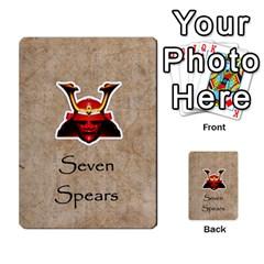 Seven Spears Takeda Uesugi Basic By T Van Der Burgt   Multi Purpose Cards (rectangle)   V0ecipjcgmoe   Www Artscow Com Front 49