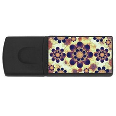 Luxury Decorative Symbols  4gb Usb Flash Drive (rectangle) by dflcprints
