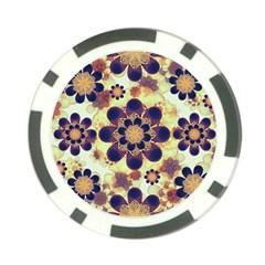 Luxury Decorative Symbols  Poker Chip by dflcprints