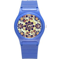 Luxury Decorative Symbols  Plastic Sport Watch (small) by dflcprints