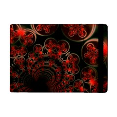 Phenomenon, Orange Gold Cosmic Explosion Apple Ipad Mini Flip Case by DianeClancy