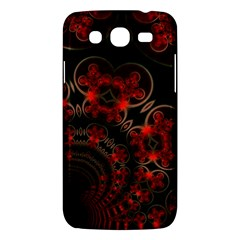 Phenomenon, Orange Gold Cosmic Explosion Samsung Galaxy Mega 5 8 I9152 Hardshell Case  by DianeClancy
