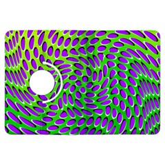 Illusion Delusion Kindle Fire Hdx 7  Flip 360 Case by SaraThePixelPixie