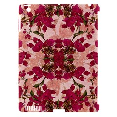 Retro Vintage Floral Motif Apple Ipad 3/4 Hardshell Case (compatible With Smart Cover) by dflcprints