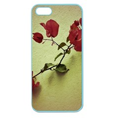 Santa Rita Flower Apple Seamless Iphone 5 Case (color) by dflcprints