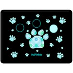 blanket paw - Fleece Blanket (Large)
