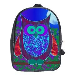 Moon Owl  School Bag (large)