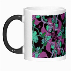 Floral Arabesque Pattern Morph Mug by dflcprints