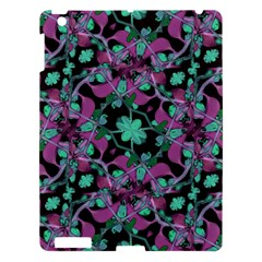 Floral Arabesque Pattern Apple Ipad 3/4 Hardshell Case by dflcprints