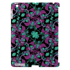 Floral Arabesque Pattern Apple Ipad 3/4 Hardshell Case (compatible With Smart Cover) by dflcprints