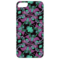Floral Arabesque Pattern Apple Iphone 5 Classic Hardshell Case by dflcprints