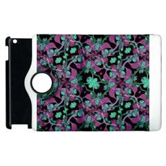 Floral Arabesque Pattern Apple Ipad 3/4 Flip 360 Case by dflcprints