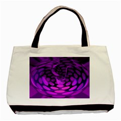 Abstract In Purple Classic Tote Bag