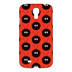 Red Cute Dazzled Bug Pattern Samsung Galaxy S4 I9500/i9505 Hardshell Case by CreaturesStore