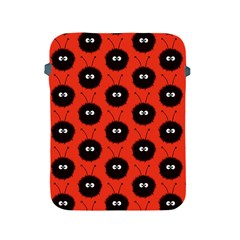Red Cute Dazzled Bug Pattern Apple Ipad Protective Sleeve by CreaturesStore