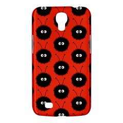 Red Cute Dazzled Bug Pattern Samsung Galaxy Mega 6 3  I9200 Hardshell Case by CreaturesStore