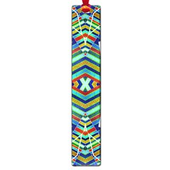 Colorful Geometric Abstract Pattern Large Bookmark by dflcprints