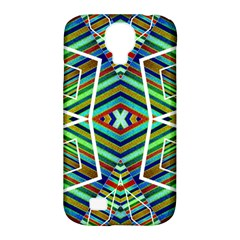 Colorful Geometric Abstract Pattern Samsung Galaxy S4 Classic Hardshell Case (pc+silicone) by dflcprints