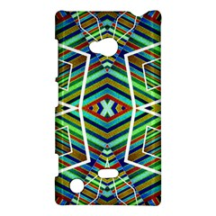 Colorful Geometric Abstract Pattern Nokia Lumia 720 Hardshell Case