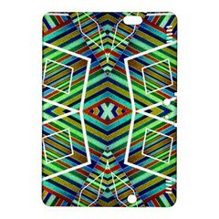 Colorful Geometric Abstract Pattern Kindle Fire Hdx 8 9  Hardshell Case by dflcprints
