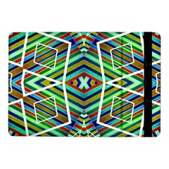 Colorful Geometric Abstract Pattern Samsung Galaxy Tab Pro 10 1  Flip Case by dflcprints