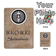 Seven Spears Ikkoikki Oda Basic By T Van Der Burgt   Multi Purpose Cards (rectangle)   Qc6ac7a0jwav   Www Artscow Com Back 43