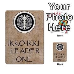 Seven Spears Ikkoikki Oda Basic By T Van Der Burgt   Multi Purpose Cards (rectangle)   Qc6ac7a0jwav   Www Artscow Com Back 47
