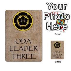 Seven Spears Ikkoikki Oda Basic By T Van Der Burgt   Multi Purpose Cards (rectangle)   Qc6ac7a0jwav   Www Artscow Com Back 50