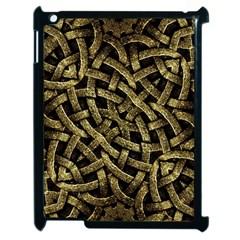 Ancient Arabesque Stone Ornament Apple Ipad 2 Case (black) by dflcprints