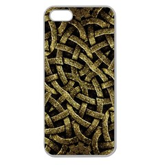Ancient Arabesque Stone Ornament Apple Seamless Iphone 5 Case (clear) by dflcprints