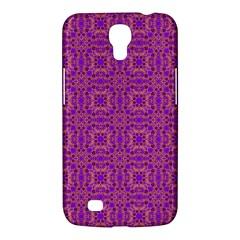 Purple Moroccan Pattern Samsung Galaxy Mega 6 3  I9200 Hardshell Case by SaraThePixelPixie