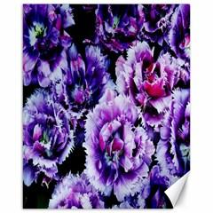 Purple Wildflowers Of Hope Canvas 16  X 20  (unframed) by FunWithFibro