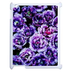 Purple Wildflowers Of Hope Apple Ipad 2 Case (white) by FunWithFibro