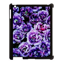 Purple Wildflowers Of Hope Apple Ipad 3/4 Case (black) by FunWithFibro