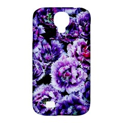 Purple Wildflowers Of Hope Samsung Galaxy S4 Classic Hardshell Case (PC+Silicone)