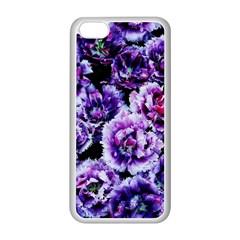 Purple Wildflowers Of Hope Apple Iphone 5c Seamless Case (white) by FunWithFibro