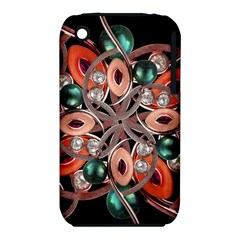 Luxury Ornate Artwork Apple Iphone 3g/3gs Hardshell Case (pc+silicone) by dflcprints