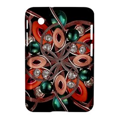 Luxury Ornate Artwork Samsung Galaxy Tab 2 (7 ) P3100 Hardshell Case  by dflcprints