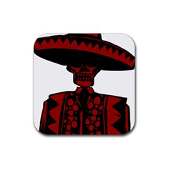 Day Of The Dead Drink Coasters 4 Pack (Square) by EndlessVintage