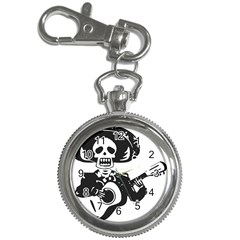 Day Of The Dead Key Chain Watch by EndlessVintage