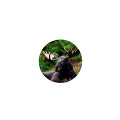 Majestic Moose 1  Mini Button by StuffOrSomething
