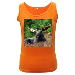 Majestic Moose Women s Tank Top (dark Colored) by StuffOrSomething