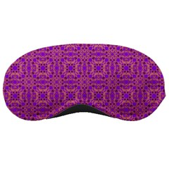 Purple Moroccan Pattern Sleeping Mask